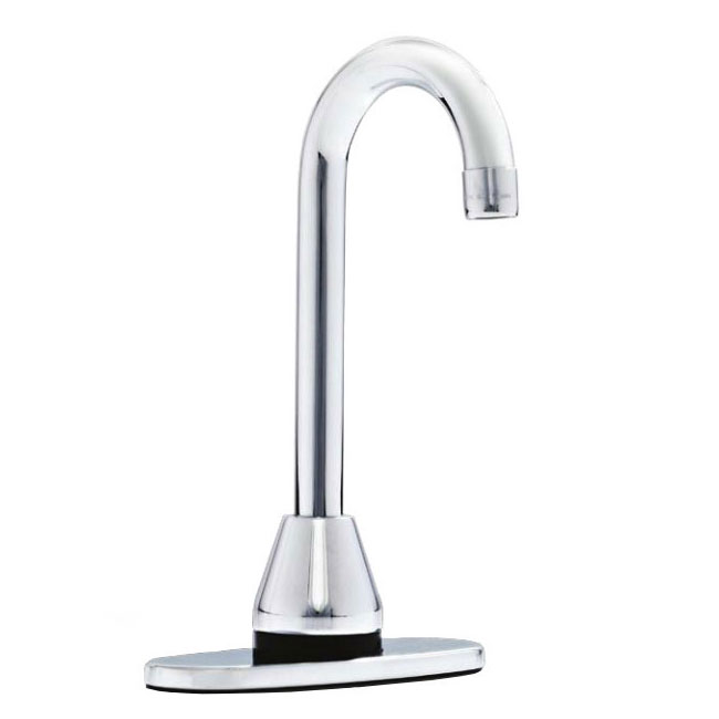 "Rubbermaid FG750353 5.5"" Venetian AutoFaucet - Single Hole Mount, Thermostatic Valve, Polished Chrome"