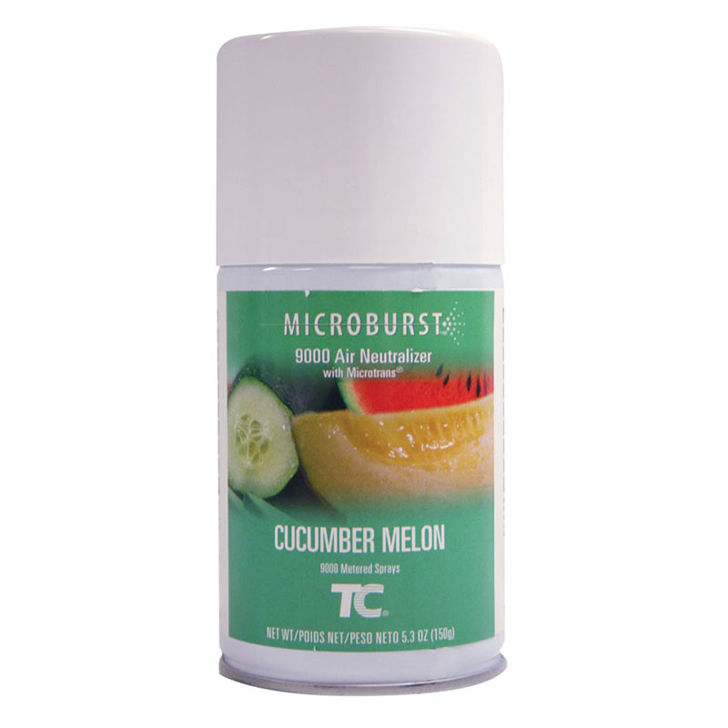 Rubbermaid FG750366 Microburst 9000 Air Neutralizer Refill - Cucumber Melon