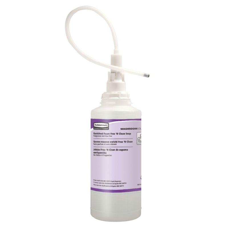 Rubbermaid FG750389 800-ml Enriched Liquid Lotion Soap Refill - Free 'N Clean