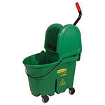 Rubbermaid FG757888 GRN 35-qt WaveBrake Specialty Mopping Combo - Green