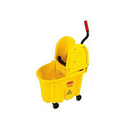 Rubbermaid FG757900 YEL 35-qt WaveBrake Specialty Mopping Combo - Yellow