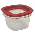 Rubbermaid FG7H75TRCHILI 2-Cup Premier Storage Container - Chili Red Lid