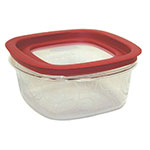 Rubbermaid FG7H77TRCHILI 5-Cup Premier Storage Container - Chili Red Lid