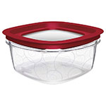 Rubbermaid FG7H78TRCHILI 9-Cup Premier Storage Container - Chili Red Lid