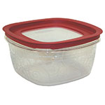 Rubbermaid FG7H79TRCHILI 14-Cup Premier Storage Container - Chili Red Lid