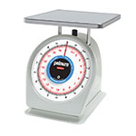 Rubbermaid FG820BW Pelouze Portion Scale - Dial Type, 10-lb x 1-oz/9-kg x25-g, Blue Lens, Stainless