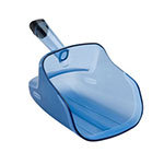 Rubbermaid FG9F5000TBLUE ProServe 74-oz Scoop with Hand Guard - blue