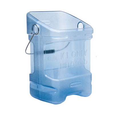 Rubbermaid FG9F5300TBLUE Square Ice Tote w/ 5.5-gal Capacity, Blue