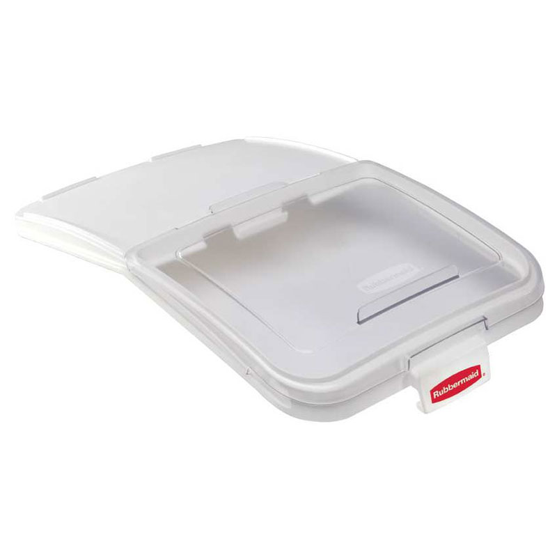 "Rubbermaid FG9F7900 CLR ProSave Ingredient Bin Lid with 32-oz Scoop - 29x17.2"" Clear"