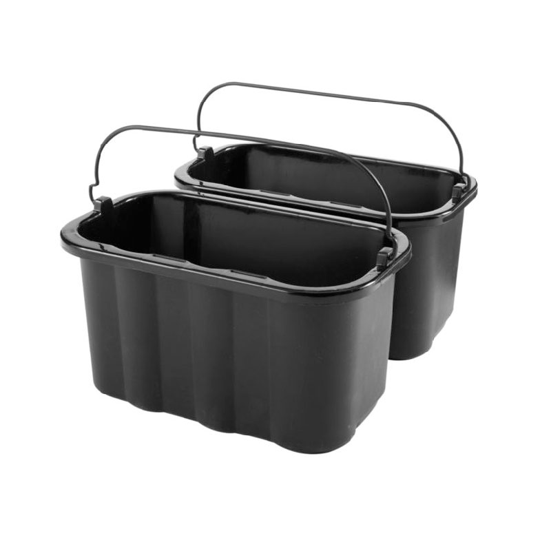 Rubbermaid FG9T8200 BLA 10-qt Sanitizing Caddy Replacement - Black