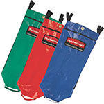 Rubbermaid FG9T9301 0000 34-gal Recycling Bag Set - Universal Recycling Symbol, Multi-Color