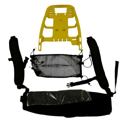 Rubbermaid FG9VBPHA06 Backpack Harness - Commercial Backpack Vacuum Cleaner