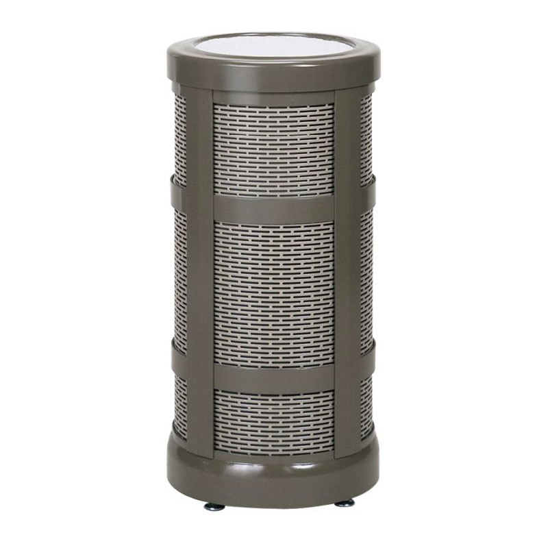 "Rubbermaid FGA50SUABZ Architek Sand Urn - 12x24"" Bronze/Sand"
