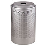 Rubbermaid FGDRR24C SM 26-gal Cans Recycle Bin - Indoor, Decorative