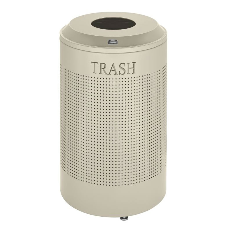 Rubbermaid FGDRR24T DP 26-gal Cans Recycle Bin - Indoor, Decorative