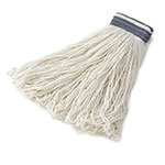Rubbermaid FGE43900 WH00 32-oz Looped-End Mop Head - Rayon, White