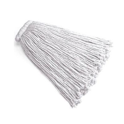 Rubbermaid FGF16600WH00 16-oz Premium Mop Head - Bolt-On Head, 4-Ply Cotton, White