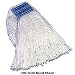 "Rubbermaid FGF55600BL00 16-oz Premium Mop Head - 5"" Headband, 4-Ply Cotton/Rayon/Synthetic, Blue"
