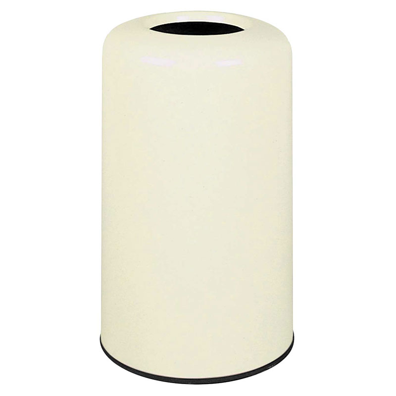 Rubbermaid FG1628LOPLAL 15-gal Waste Receptacle - Fiberglass, Almond