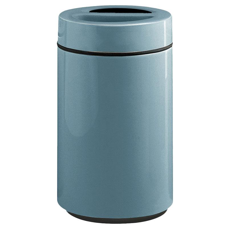 Rubbermaid FG1630SUTPLCBL 32-gal Ash/Trash Receptacle - Sand Urn Top, Fiberglass, Country Blue