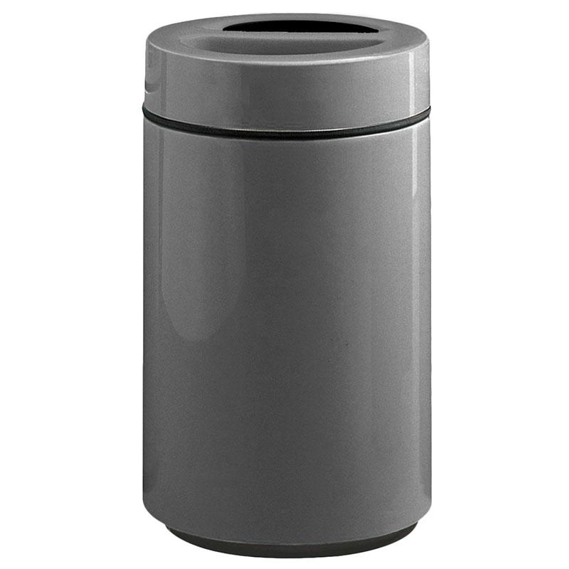 Rubbermaid FG1630SUTPLCH 32-gal Ash/Trash Receptacle - Sand Urn Top, Fiberglass, Charcoal