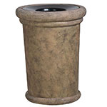 "Rubbermaid FGFGPF3626BISQ Milan Planter - 36x26-1/2"" Fiberglass, Bisque"