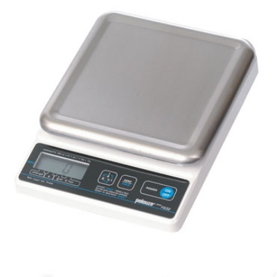 Rubbermaid FGFS3288 Digital Portion Scale, 2-lb x 1/8-oz Graduation, Battery Power, Stainless