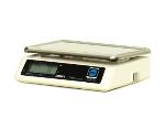 Rubbermaid FGFS688 Digital Portion Scale, 6-lb x .1-oz Graduation, A/C Power, ABS