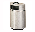 Rubbermaid FGFGH2436SUPLMN 18-gal Ash/Trash