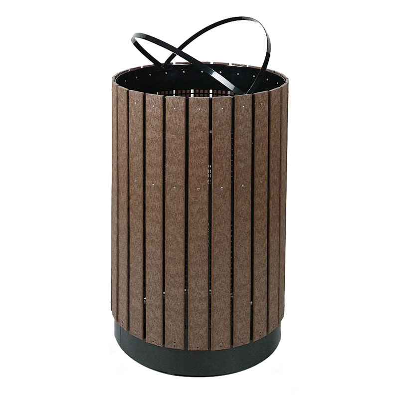 Rubbermaid FGH55C 63 gal Outdoor Decorative Trash Can