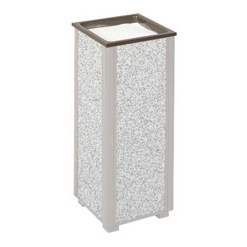 Rubbermaid FGHTAABZ Trash Can Top Cigarette Receptacle - Outdoor Rated