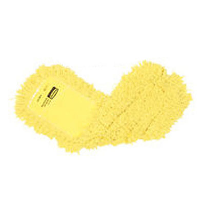 "Rubbermaid FGJ25800YL00 Dust Mop - 60x5"" Slip-On/Slip-Through Backing, Yellow"