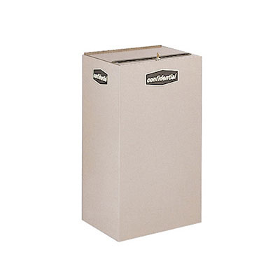 Rubbermaid FGNC30C3 28.5-gal Plastic Recycle Bin - Indoor, Decorative