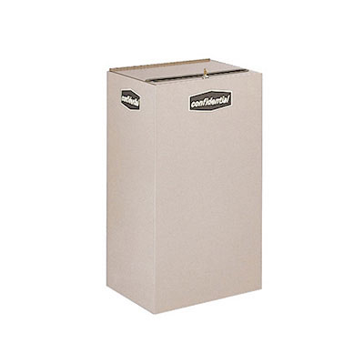 Rubbermaid FGNC30W3 28.5-gal Plastic Recycle Bin - Indoor, Decorative