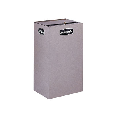 Rubbermaid FGNC30W3L 28.5-gal Plastic Recycle Bin - Indoor, Decorative