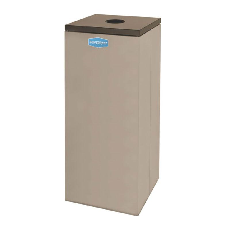 Rubbermaid FGNC36C6 34.5-gal Paper Recycle Bin - Indoor, ...