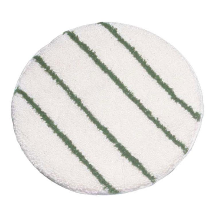 "Rubbermaid FGP26700WH00 17"" Bonnet with Scrub Strips - White/Green"