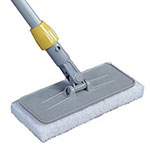"Rubbermaid FGQ31100 Upright Scrubber Pad Holder - 4x10"" Gray"