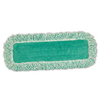 Rubbermaid FGQ40800GR00 Economy Dust Mop with Fringe - Microfiber, Green