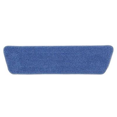"Rubbermaid FGQ40900BL00 18"" Economy Wet Room Pad - Microfiber, Blue"