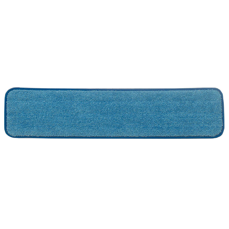 "Rubbermaid FGQ41100BL00 24"" Hygen Wet Room Pad - Microfiber, Blue"