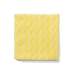 "Rubbermaid FGQ61000YL00 16"" Square Hygen Bathroom Cloth - Microfiber, Yellow"