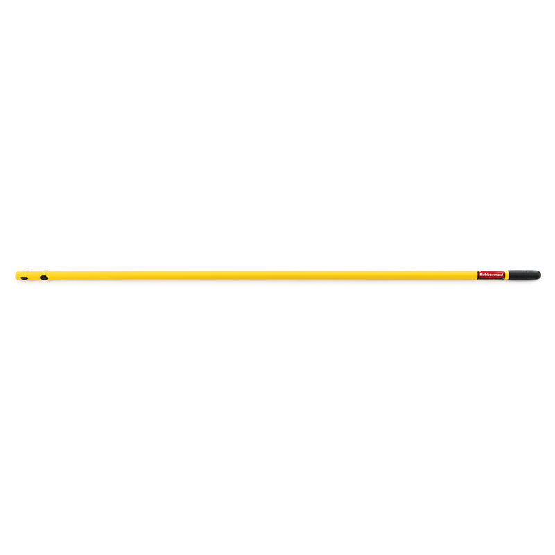 "Rubbermaid FGQ74900YL00 52"" Quick Connect Economy Handle - Yellow"