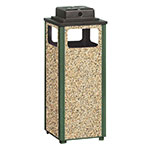 Rubbermaid FGR12WU202PL Trash Can Top Cigarette Receptacle - Outdoor Rated