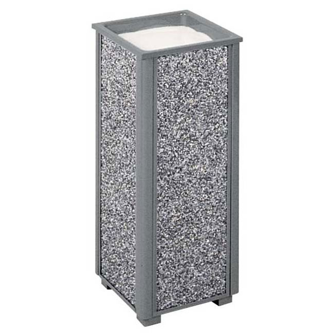 Rubbermaid FGR402000 Urn Cigarette Receptacle - Outdoor Rated