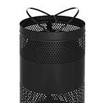 Rubbermaid FGS3EGBKPL 25-gal Cans Recycle Bin - Indoor/Outdoor, Decorative