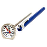 Rubbermaid FGTHP220C Pocket Thermometer - Dial Type, 0 to 220 F Stainless