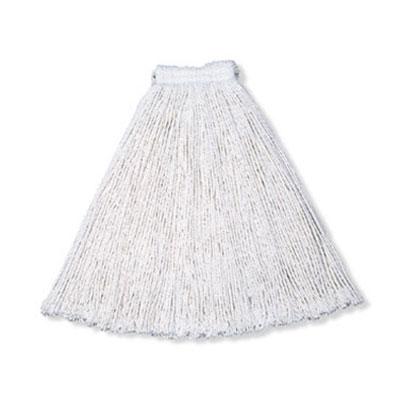 "Rubbermaid FGV15700WH00 Economy Mop Head - #20, 5"" Headband, Cotton Yarn, White"