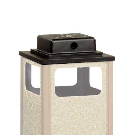 Rubbermaid FGWU1 Weather Urn Top - (R12SU) (R14SU) Waste Container