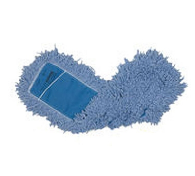 Rubbermaid FGJ25200BL00 Dust Mop 18 in L x 5 in W Blended Twisted Loop Blue Restaurant Supply